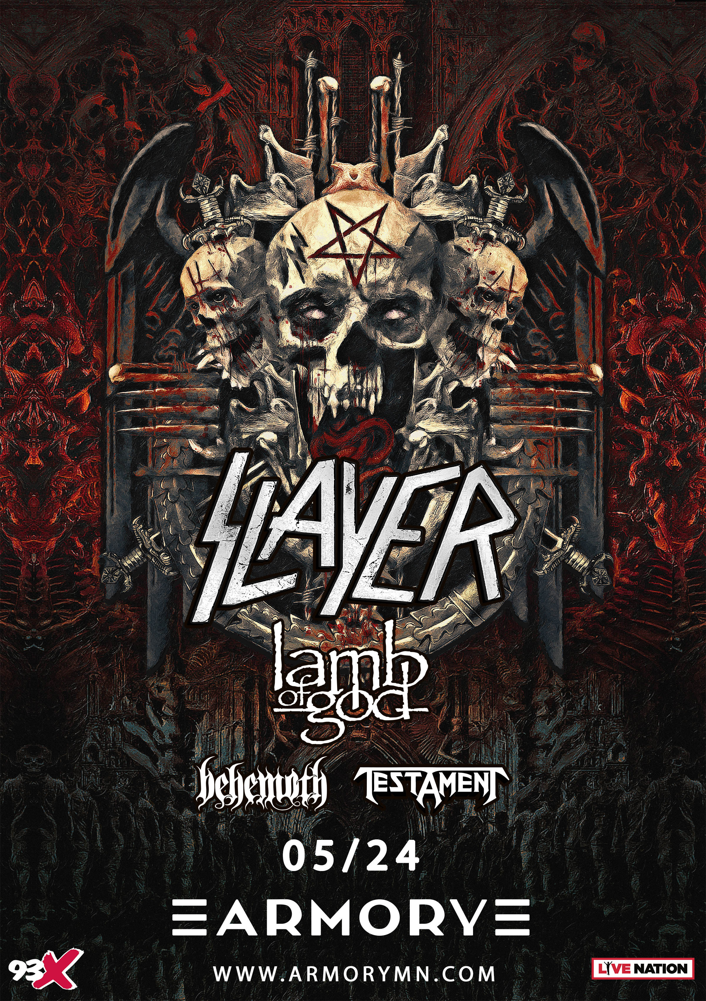 SOLD OUT: Slayer