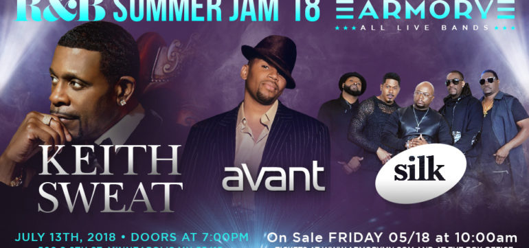 R&B Summer Jam '18: Keith Sweat