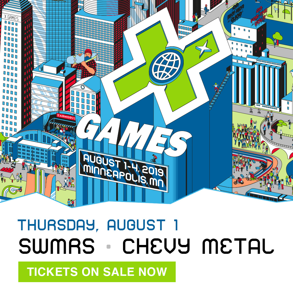 SWMRS – Chevy Metal: X Games Minneapolis 2019
