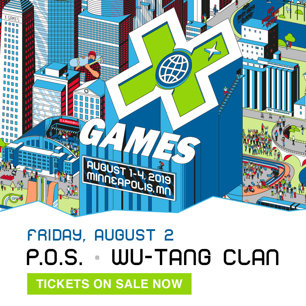 P.O.S. – Wu Tang Clan: X Games Minneapolis 2019