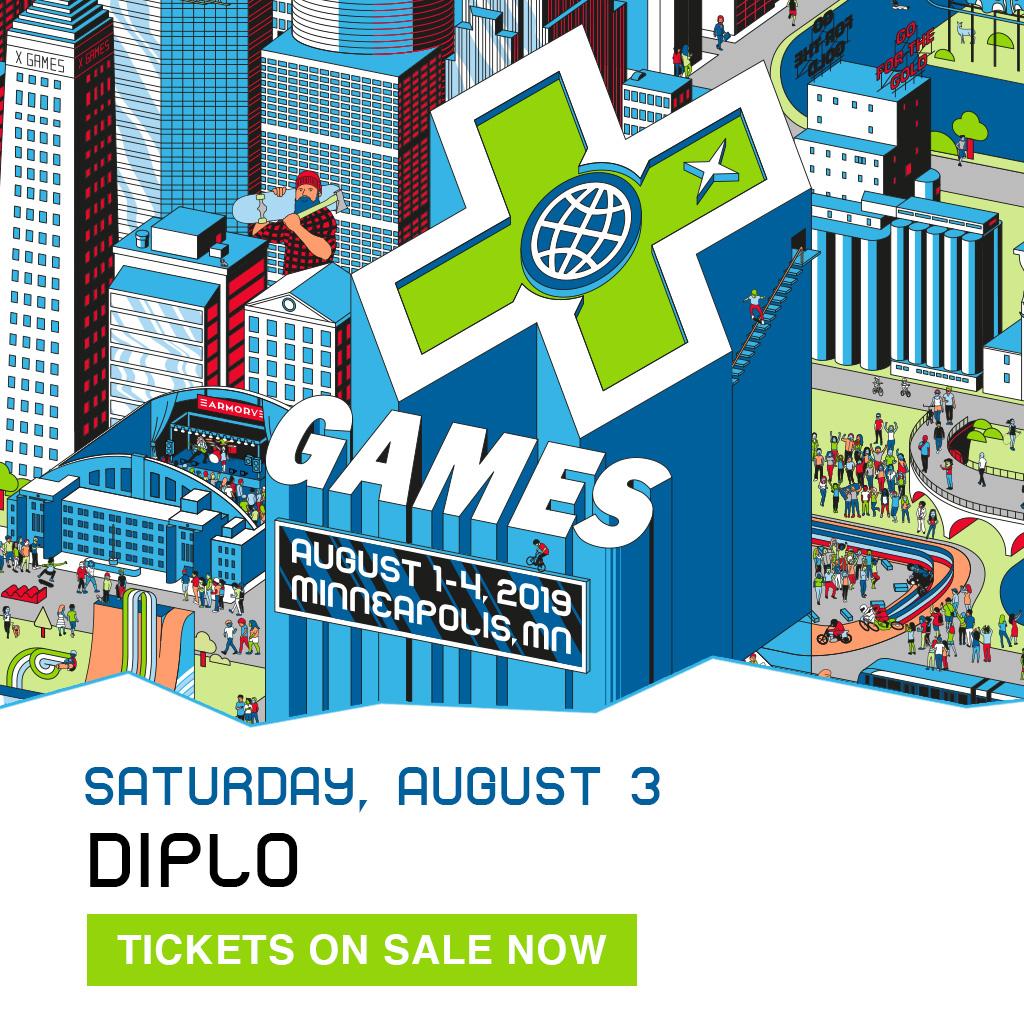 DIPLO: X Games Minneapolis 2019