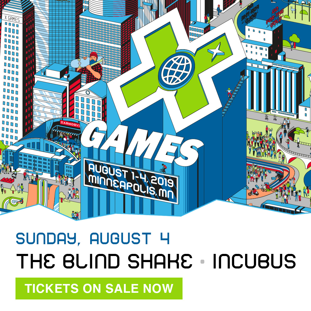 Incubus – The Blind Shake: X Games Minneapolis 2019