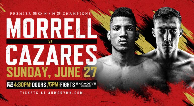 LIVE BOXING SERIES: Morrell vs Cazares