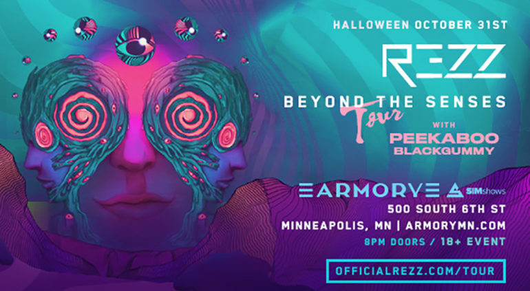 REZZ Beyond The Senses Tour